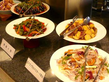 夏野菜の色どり料理